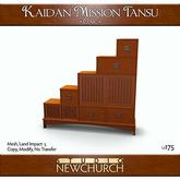 :: N :: Kaidan Mission Tansu - Oak