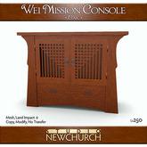 :: N ::  Wei Mission Console - Oak