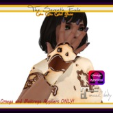 The Seventh Exile - Cake Cake Cake! Gloves - Chocolate - Omega & Maitreya Appliers ONLY!