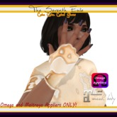 The Seventh Exile - Cake Cake Cake! Gloves - Cream - Omega & Maitreya Appliers ONLY!