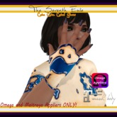 The Seventh Exile - Cake Cake Cake! Gloves - Blueberry - Omega & Maitreya Appliers ONLY!
