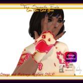 The Seventh Exile - Cake Cake Cake! Gloves - Raspberry - Omega & Maitreya Appliers ONLY!