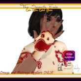 The Seventh Exile - Cake Cake Cake! Gloves - Cherry - Omega & Maitreya Appliers ONLY!