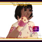 The Seventh Exile - Cake Cake Cake! Gloves - Rose Sauce - Omega & Maitreya Appliers ONLY!