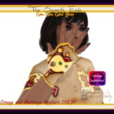 The Seventh Exile - Cake Cake Cake! Gloves - Pizza - Omega & Maitreya Appliers ONLY!