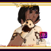 The Seventh Exile - Cake Cake Cake! Gloves - Dark Chocolate - Omega & Maitreya Appliers ONLY!