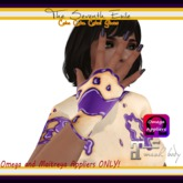 The Seventh Exile - Cake Cake Cake! Gloves - Grape - Omega & Maitreya Appliers ONLY!