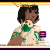The Seventh Exile - Cake Cake Cake! Gloves - Mint - Omega & Maitreya Appliers ONLY!