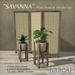 "[CIRCA] Pkg - ""Savanna"" - Plant Stand & Divider Set"