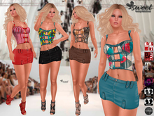 Sweet Temptations :: Satisfaction Outfit (8 combinable styles HUD Driven) Appliers for Maitreya, EVE, Slink and Omega