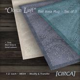 "[CIRCA] - ""Ocean Loft"" - Bali Area Rug Set of 3"