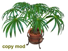 Pot Plant in Stand - Copy Mod