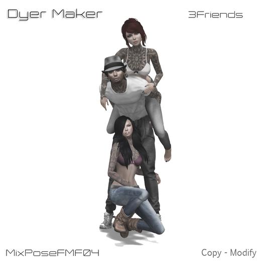 3 Friends Mix Pose FMF 04