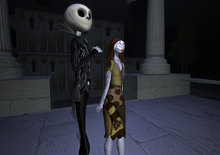 ~JD~ Skeleton King and Sally Avatar With AO