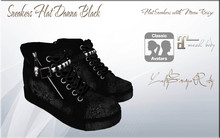 LSR Shoes - Sneakers Flat Danna Black