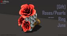 MdiModa - [Gift] July 2015 Rose/Pearl Ring