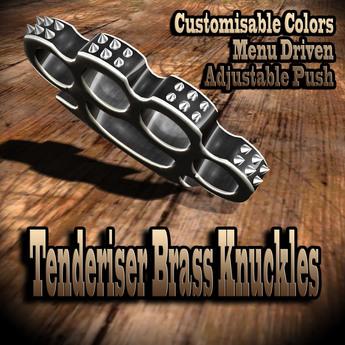 Tenderiser Brass Knuckles