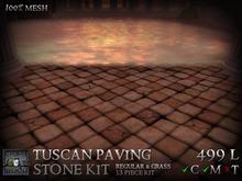 Stormwood: Mesh Paving Stone Kit - Tuscan