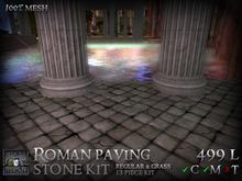 Stormwood: Mesh Paving Stone Kit - Roman