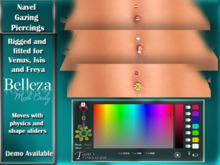 Belleza Piercings - Navel Gazing
