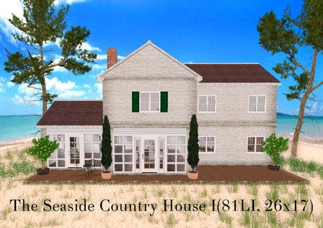 The Seaside Country House I(81LI, 26x17)