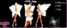 ::Foxy Fashions:: White Angel Costume