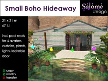 Small Boho Hideaway ** Summer Special **