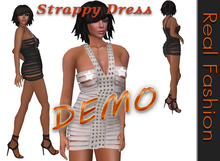 REAL FASHION Cut out strappy dress - DEMO