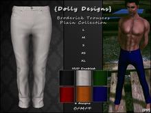 {DD} Broderick Trousers - Plain