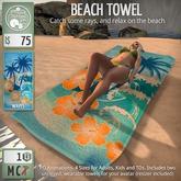 ButtonJar - Beach Towel (Waves) - MESH