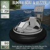 ButtonJar - Bumper Boat (White) - MESH