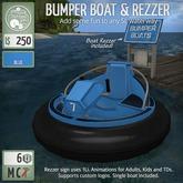 ButtonJar - Bumper Boat (Blue) - MESH