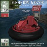 ButtonJar - Bumper Boat (Red) - MESH