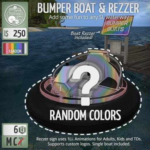 ButtonJar - Bumper Boat (Random) [Package]