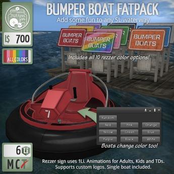 ButtonJar - Bumper Boat (Fatpack) - MESH