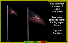 Flag pole mesh (Boxed)