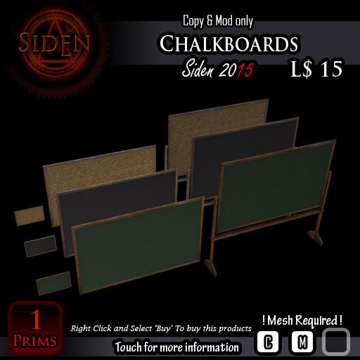 Chalkboards (BOX)