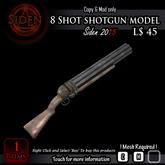 8 Shot shotgun model (BOX)