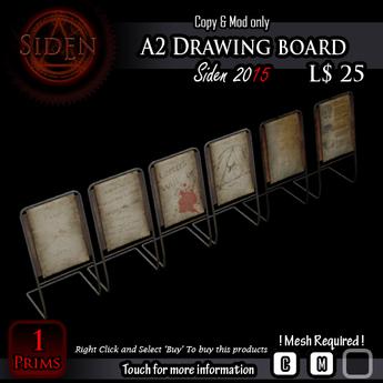 A2 Drawing board (BOX)