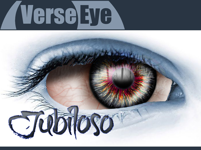 Jubiloso - Red - HD Mesh Eyes by VerseEye