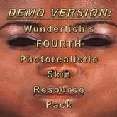 Wunderlich's DEMO FOURTH photorealistic skin resource pack