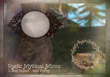 *windsong. { rustic mythical mirror }