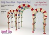 Ad   spot on belly dance prop   triple arch pack