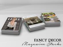Fancy Decor: Magazine Stacks