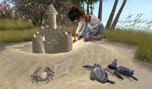 CJ Play Sand Castle2 x 8 Anim by swap/for 2 Person