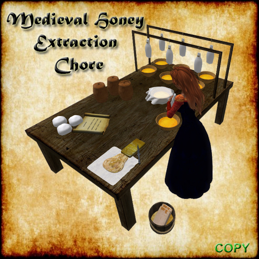 UD Medieval Honey Extraction Making Chore