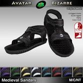 AB Medieval Armor Sandals w/color HUD - SLink