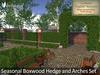 Botanical - Seasonal Boxwood Hedge and Arches Set