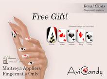 AVICANDY Royal Cards - maitreya fingernails