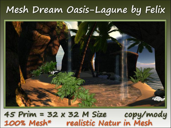 Mesh Tropic Dream Oasis/Lagune 45 Prim=32x32m Size copy/mody